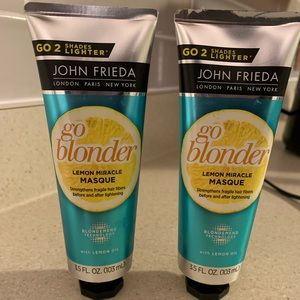 John Frieda Go Blonder lemon miracle mask